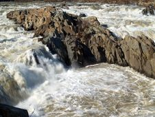 Great Falls National Park Royalty Free Stock Photo