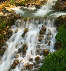 Free Small Water Cascades Stock Photos - 2316503