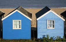 Free Beach Huts Royalty Free Stock Images - 2317529