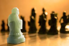 Free Outnumbered Chess Pawn Stock Photography - 2317602