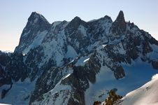 Free Grand Jourasses Mont Blanc Royalty Free Stock Photos - 2318858