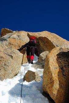 Free Climber Stock Image - 2318871