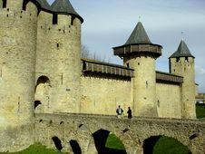Free Chateau Of Carcassone Stock Image - 2319151