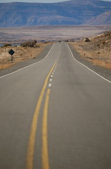 Free Patagonian Road Royalty Free Stock Photography - 2319507