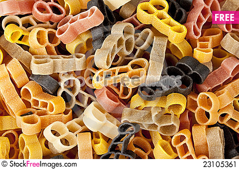 Free Italian Pasta Stock Image - 23105361