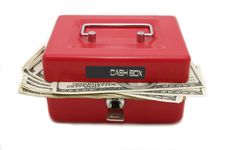Free Cash In Vault Stock Photo - 23100350