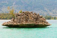 Free Mauritius Crystal Rock Royalty Free Stock Image - 23101356