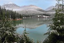 Free Green Lake, Whistler Royalty Free Stock Photography - 23104317