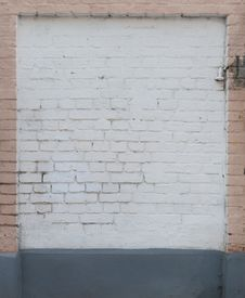 Free Painted Brick Wall Stock Images - 23109314