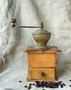 Free Ancient Coffee Grinder Stock Images - 23111674