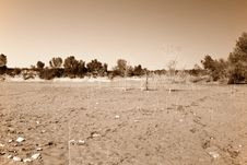 Free Dry Lake Bed Stock Photo - 23111410