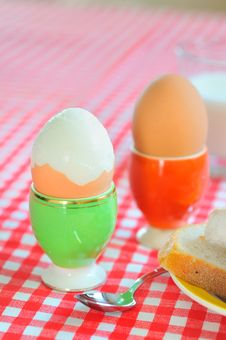 Free Boiled Eggs Stock Photo - 23111900