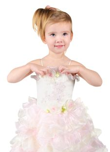 Free Portrait Of Beautiful Little Girl Royalty Free Stock Photography - 23112267