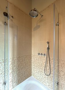 Free Shower Royalty Free Stock Image - 23115146