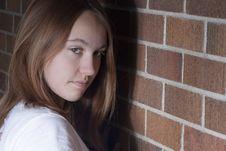 Free Sneaky Cute Girl. Stock Photos - 23117003