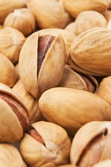 Free Pistachios Heap Stock Photography - 23118952