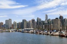 Free Vancouver Marina Royalty Free Stock Image - 23119186