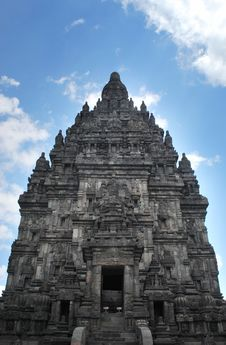 Free Big Candi On Prambanan Temple Complex Royalty Free Stock Photos - 23125008