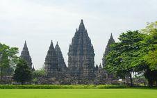 Free Ruin Of Prambanan Candi Temple Royalty Free Stock Photo - 23125055
