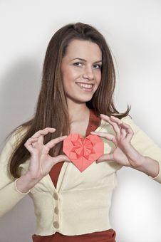Free Young Beautiful Girl Stock Photo - 23125650