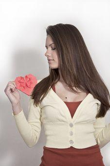 Free Young Beautiful Girl Stock Photo - 23125740