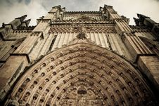 Free Cathedral Facade Royalty Free Stock Image - 23126376