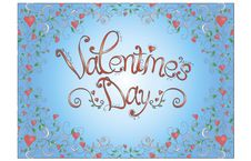Free Valentine S Day Card Royalty Free Stock Photos - 23126818