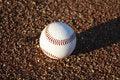 Free Baseball On Ground Royalty Free Stock Photography - 23132137