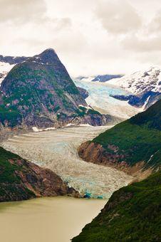 Juneau Alaska Glaciers Stock Images