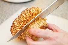 Free Cutting Enoki Mushrooms Stock Images - 23131634