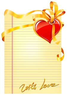 Free Valentine S Day Card Stock Photo - 23133990