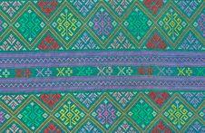 Thai Handmade Fabric Stock Images