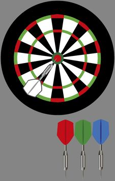 Free Dart Board Stock Photos - 23134173