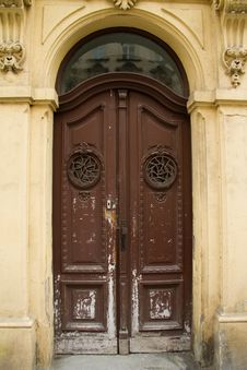 Free Old Door Royalty Free Stock Image - 23134226