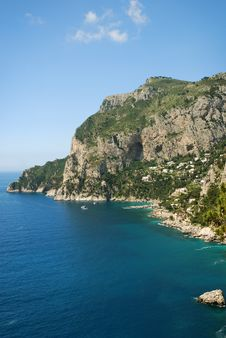 Free Sea Coast, South Of Italy Royalty Free Stock Images - 23134349