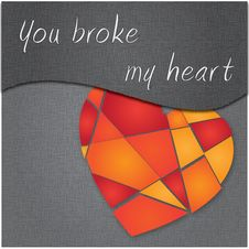 Free Broken Heart Stock Photos - 23140503
