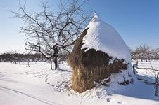 Free Haystack In Carphatian Mountains, Romanian Royalty Free Stock Photography - 23145457