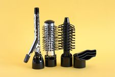 Free Hairdressing Set Royalty Free Stock Photography - 23146417