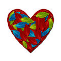 Free Heart By Variety Color Leaf Stock Images - 23159884
