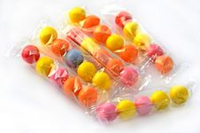 Free Colorful Gum Balls Royalty Free Stock Photography - 23154077