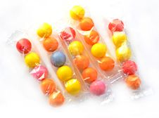Free Colorful Gum Balls Royalty Free Stock Photography - 23154097