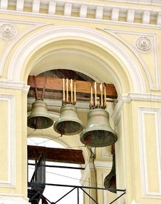 Free Bell Tower Of The Orthodox Church Royalty Free Stock Photos - 23157058