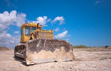 Free Bulldozer Royalty Free Stock Images - 23159309