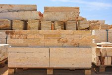 Free Limestone Blocks Royalty Free Stock Photos - 23159328