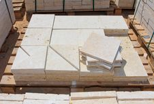 Free Limestone Blocks Royalty Free Stock Image - 23159356