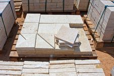 Free Limestone Blocks Stock Photography - 23159362