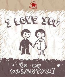 Free I Love You Royalty Free Stock Photos - 23160178