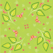 Free Green Spring Pattern Stock Photography - 23161732