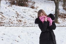 Free Winter Girl Stock Images - 23163614