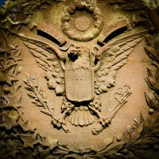 Free US Coat Of Arms Stock Images - 23163864